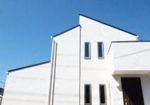 白い塗り壁の家|注文住宅の実例