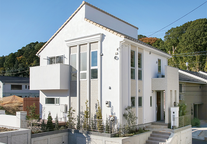南欧モダンの家|注文住宅の実例