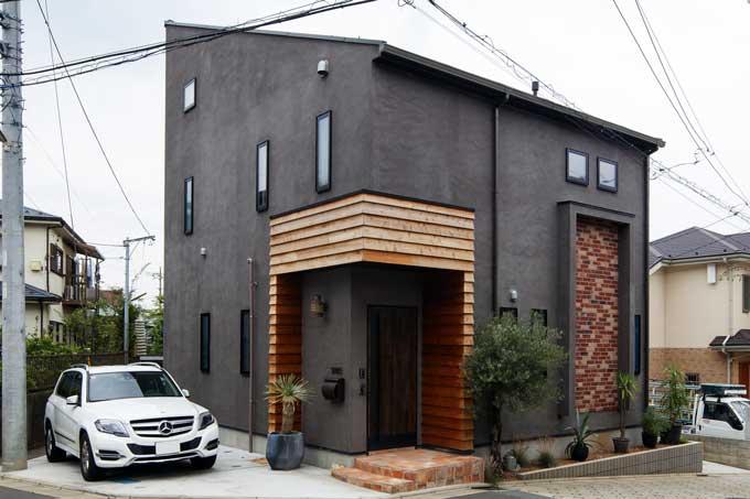 ヴィンテージミックス ニューヨーク・ブルックリンスタイルの家|注文住宅の実例