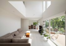 内外装純白の家|注文住宅の実例