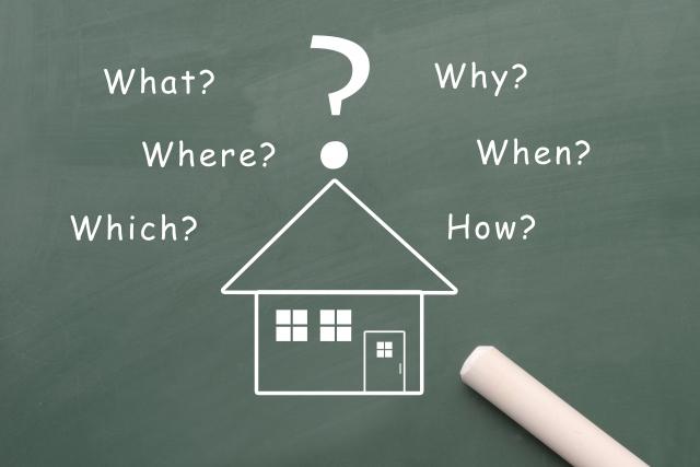 住宅の検討イメージ