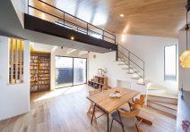 デザイン性の高いスタイリッシュで明るい家|注文住宅の実例