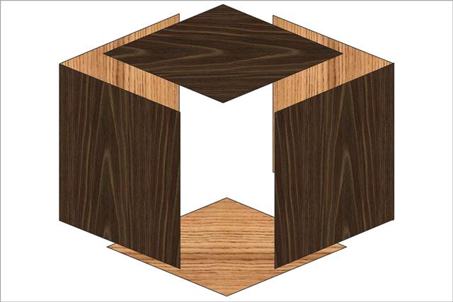 6面体モノコック構造